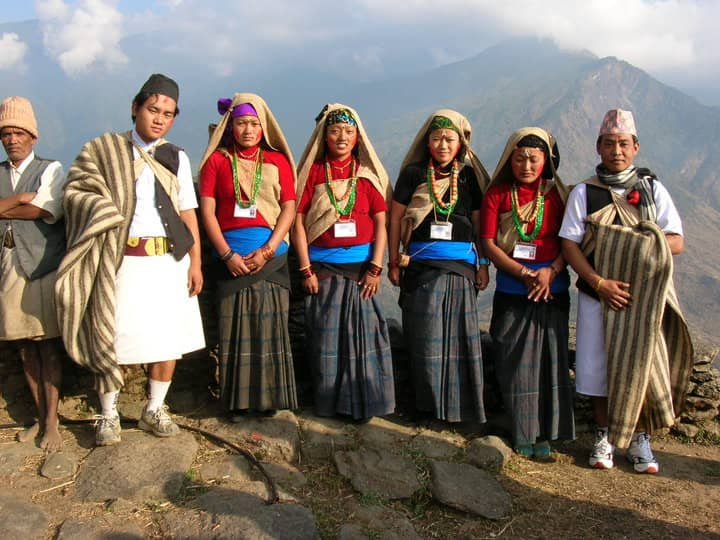 gurung traditional dress